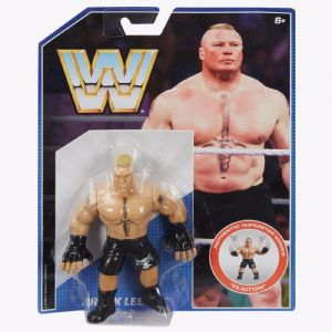 WWE Wresting Retro Action Figure Collection - Brock Lesnar